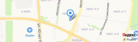 Бокар на карте Ижевска
