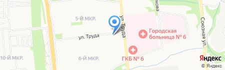 Центр детского творчества Устиновского района на карте Ижевска