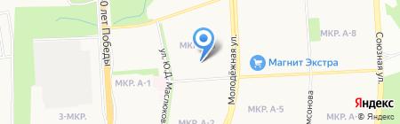 Детский сад №231 на карте Ижевска