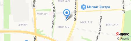 Детский сад №245 на карте Ижевска