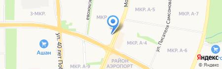 Санни на карте Ижевска