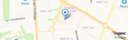 Меха Фариды на карте Ижевска