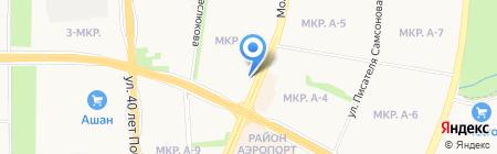 Россельхозбанк на карте Ижевска