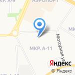 Простоквашино на карте Ижевска