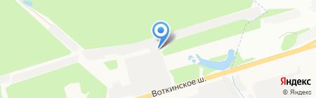 Иж-Авто на карте Ижевска