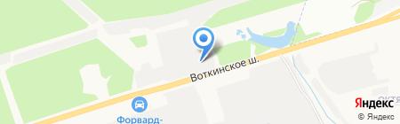 Аим сервис на карте Ижевска