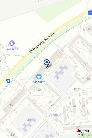 MARTS ПЛЮС на карте Ижевска