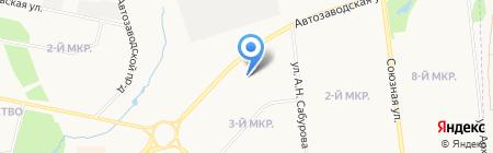 Хозяйка на карте Ижевска