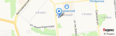 Стрекоза на карте Ижевска
