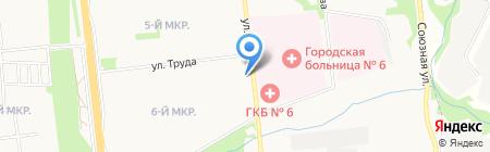 Академия оптики на карте Ижевска