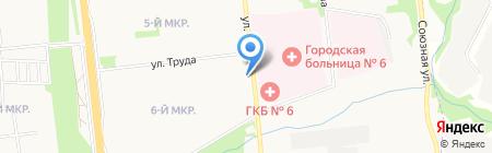Сантус на карте Ижевска