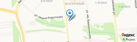 Лайм на карте Ижевска