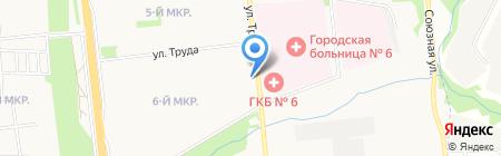 Праздник Проказник на карте Ижевска