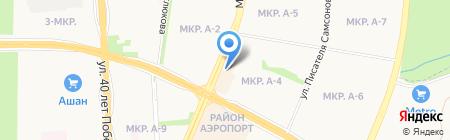 Выручка на карте Ижевска