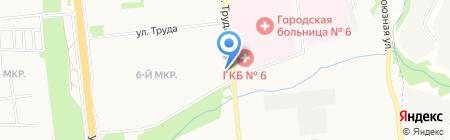 Империя на карте Ижевска