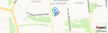 Эталон на карте Ижевска
