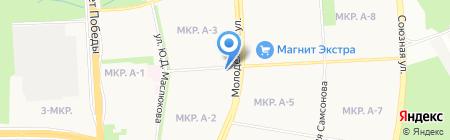 ДЮСШ №9 на карте Ижевска