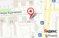 Схема проезда до компании Альфа в Ижевске
