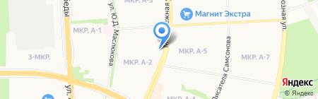 Рай на карте Ижевска