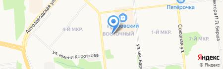 Винни-Пух на карте Ижевска