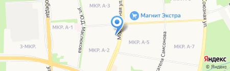Интеграл на карте Ижевска