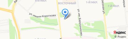 Астори-строй на карте Ижевска
