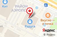 Схема проезда до компании Ниагара в Ижевске