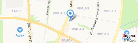 АльМа Мебель на карте Ижевска