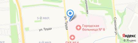 Ижевские Аптеки на карте Ижевска