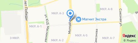 Белая Роза на карте Ижевска