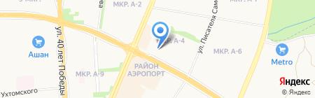 Ижинвест-Ломбард на карте Ижевска