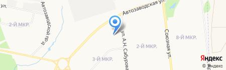 Ареола на карте Ижевска