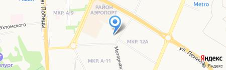Киностудия-18 на карте Ижевска