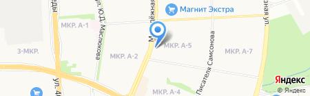 Ева на карте Ижевска