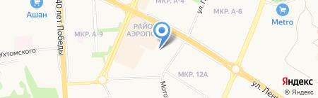Автомойка №1 на карте Ижевска