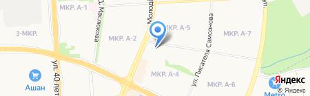 Книжник на карте Ижевска