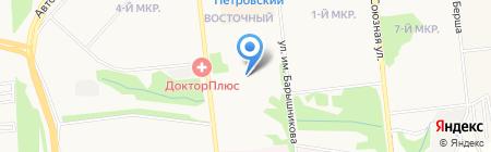 Морковь групп на карте Ижевска