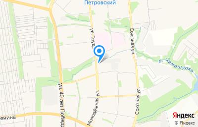Местоположение на карте пункта техосмотра по адресу г Ижевск, ул Молодежная, д 115