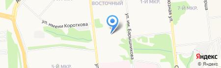 Клиника семейной медицины на карте Ижевска