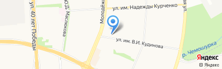 Централизованная бухгалтерия учреждений образования Устиновского района г. Ижевска на карте Ижевска