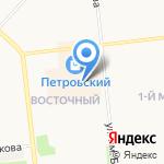 Петровский на карте Ижевска