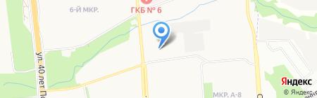 Банкомат АКБ Авангард на карте Ижевска