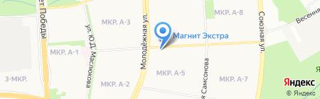 Йола-маркет на карте Ижевска