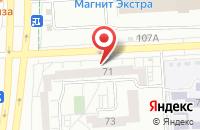 Схема проезда до компании Хлебница в Первомайском