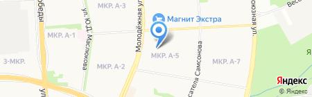Детский сад №260 на карте Ижевска