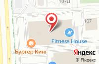 Схема проезда до компании Секрет сервис в Первомайском