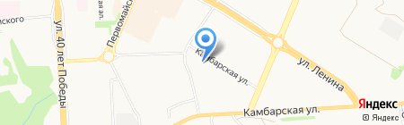 Детский сад №280 на карте Ижевска