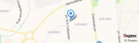 Познание на карте Ижевска