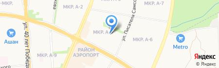 Специальная коррекционная начальная школа-детский сад №256 на карте Ижевска