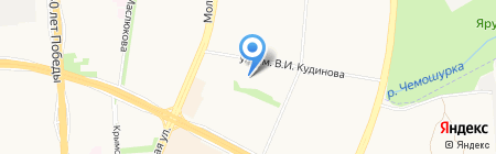 Средняя общеобразовательная школа №53 на карте Ижевска
